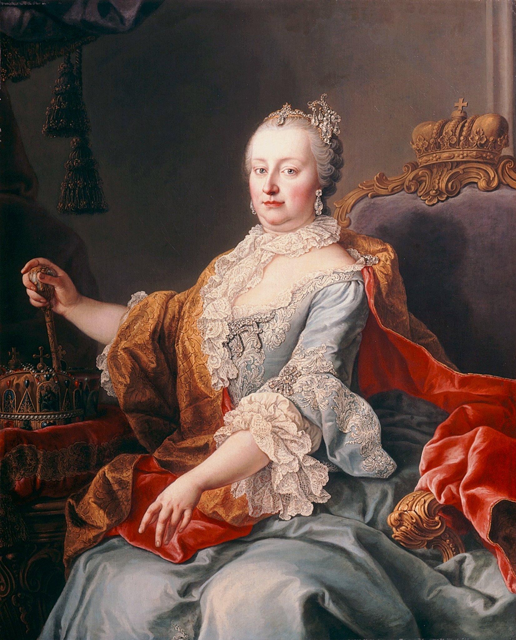 Резултат с изображение за HISTORIQUE DE AUSTRIA MARIA-THERESIA