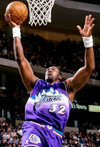 Basketball Hall of Fame inductee Utah Jazz Kar...