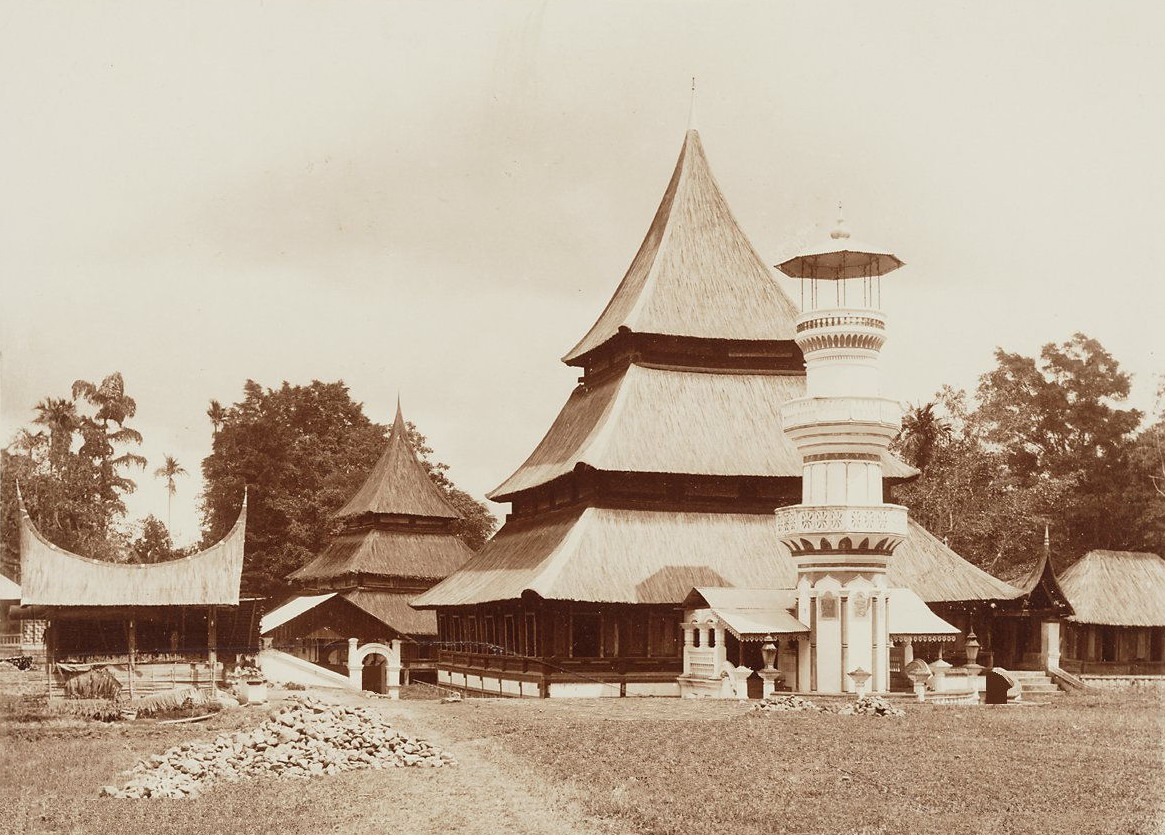 English: Minangkabau mosque