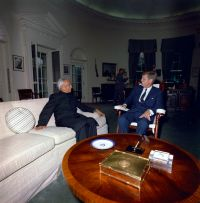 File:President John F. Kennedy with Indian President ...