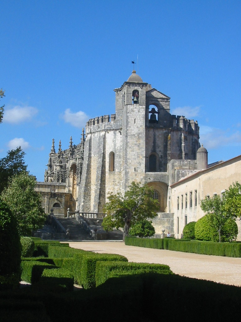 A Templar Cathedral in Portugal from Wikipedia