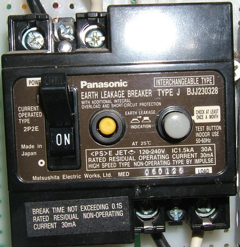 ring main wiring diagram toyota hilux 2016 earth leakage circuit breaker - wikipedia