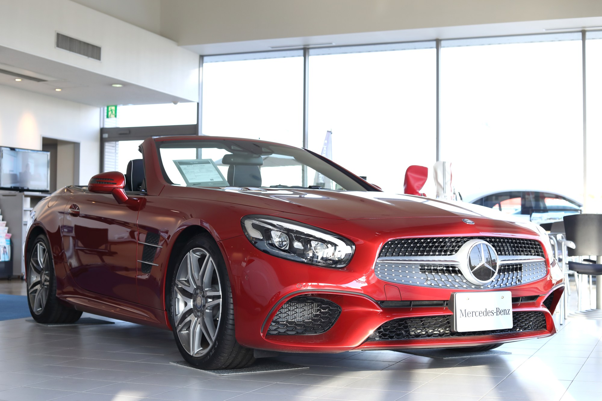 hight resolution of file mercedes benz sl550 2016 by japan specification roof open