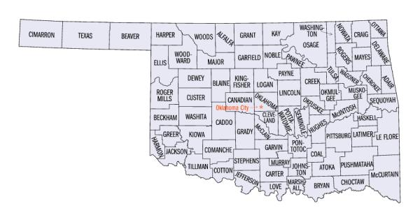 Oklahoma statistical areas Wikipedia