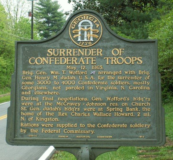 Civil War Confederate Surrender