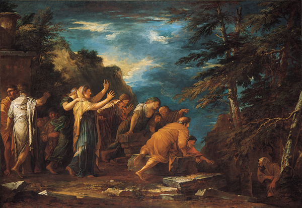 FilePythagoras Emerging from the Underworld oil on canvas painting by Salvator Rosajpg