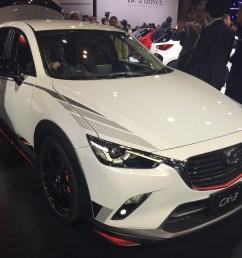 mazda cx 3 racing concept at 2015 tokyo motor show  [ 3264 x 2448 Pixel ]
