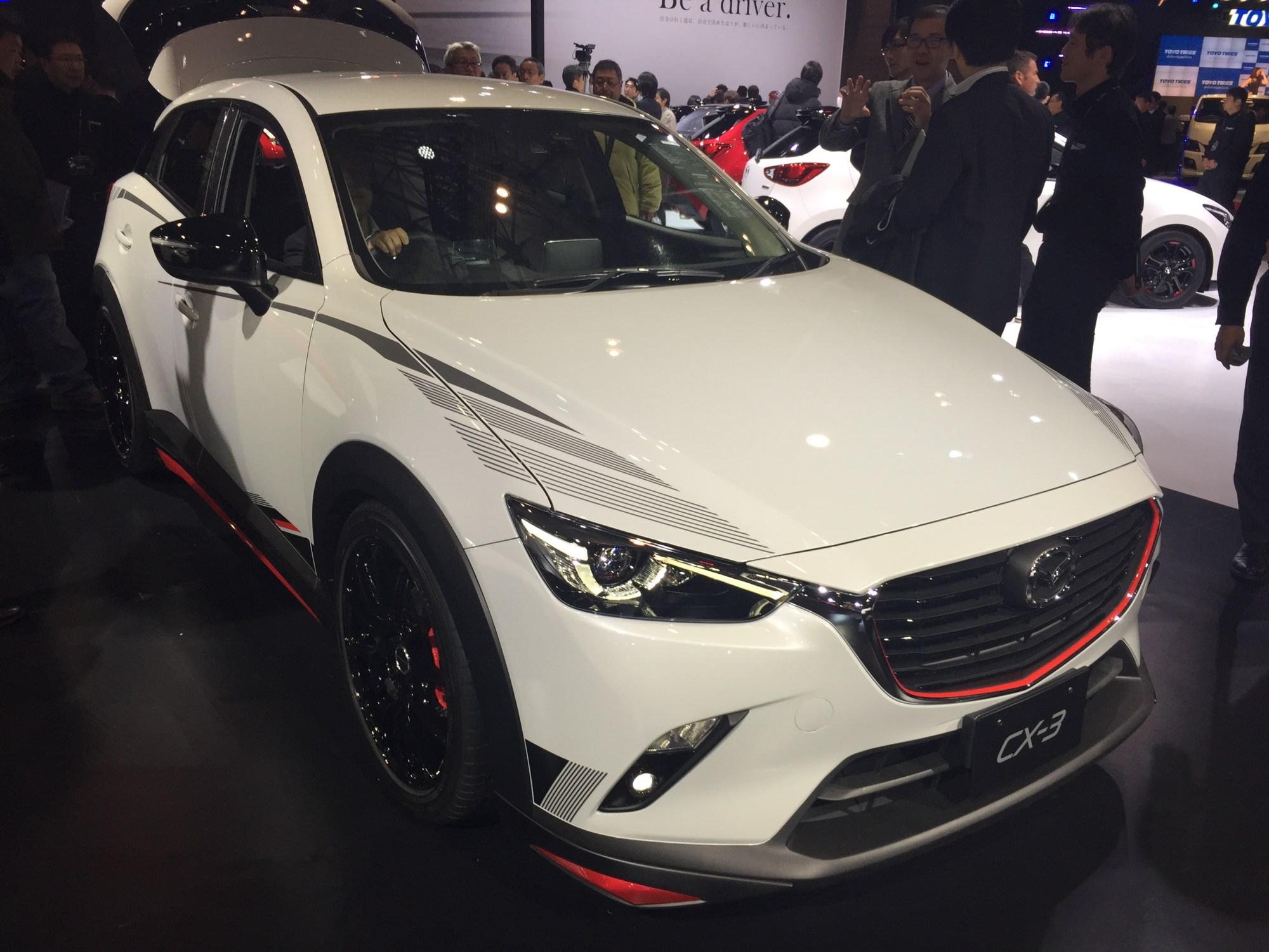 hight resolution of mazda cx 3 racing concept at 2015 tokyo motor show