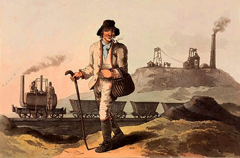 A Middleton miner in 1814.