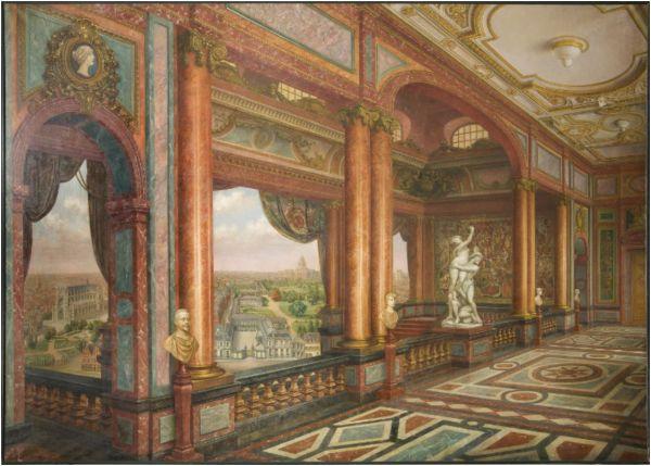 File Cartoon Of Interior Arenberg Palace