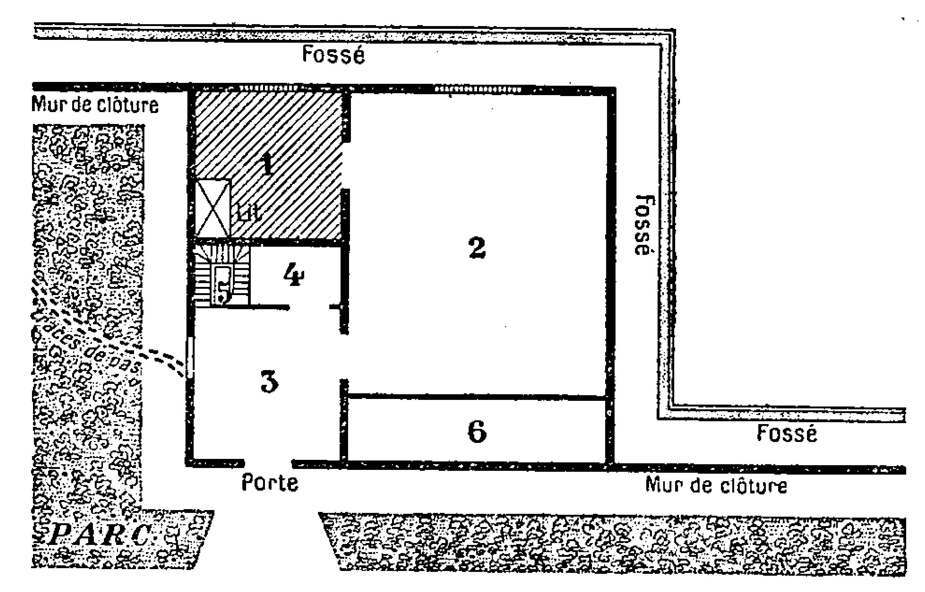 FichierLeroux  Le mystre de la chambre jaune 1932 Partie 1 page 70 cropjpg  Wikipdia