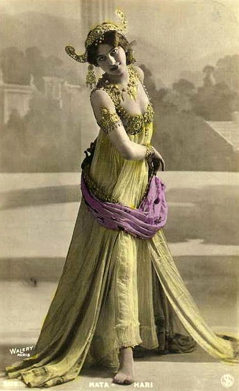 Actually Mata Hari, famous girl spy