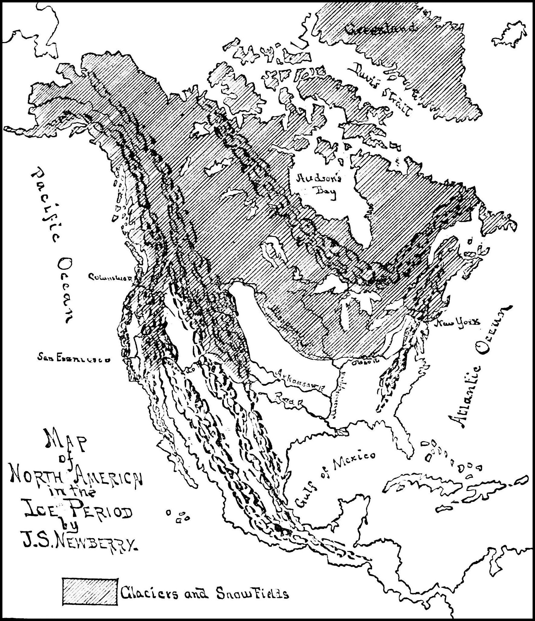 File:PSM V30 D013 Map of north america during the ice age