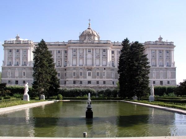 Palacio Real Royal Palace Madrid Spain