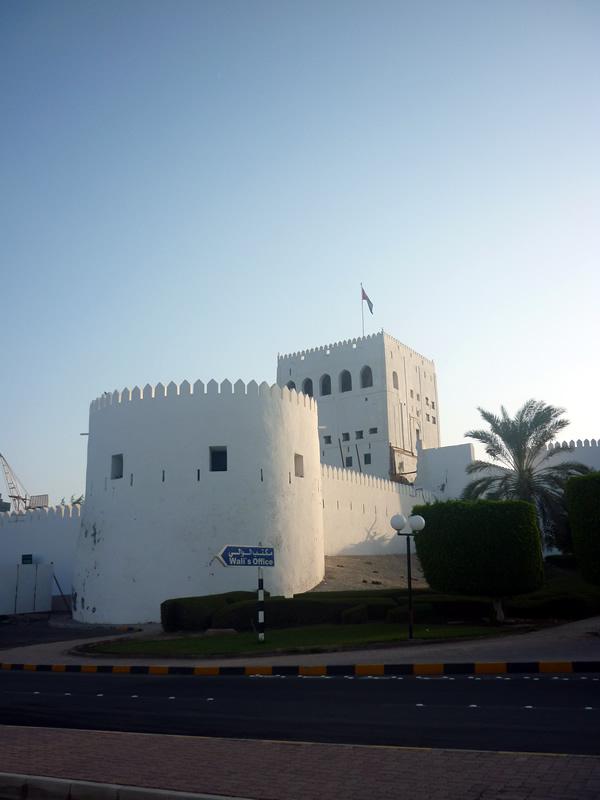 Le chateau de Sohar dans le sultanat d'Oman lieu d'origine d'Ibn Thahabi