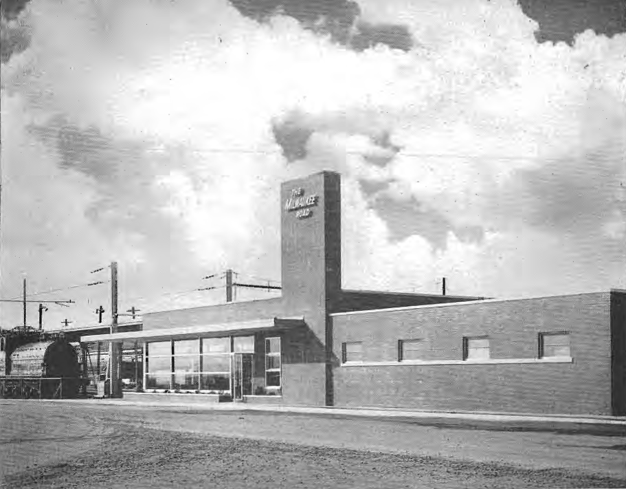 Tacoma station Milwaukee Road  Wikipedia