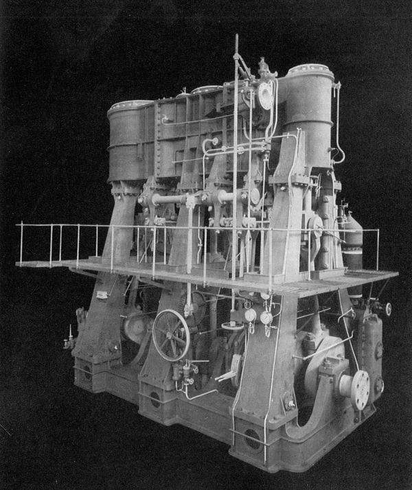 Titanic Triple Expansion Marine Steam Engine