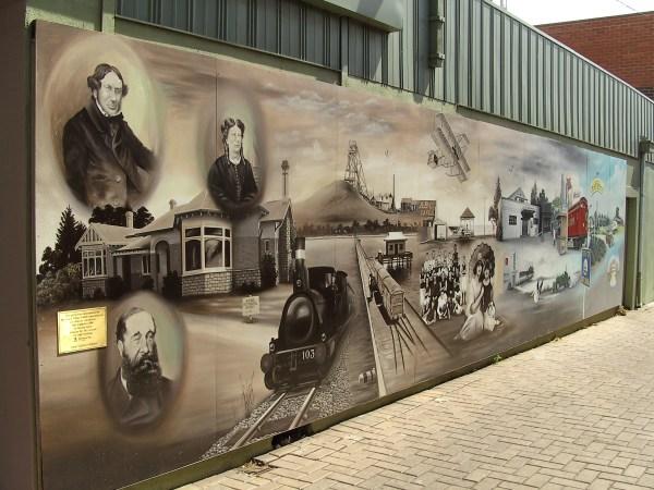 Historical Mural