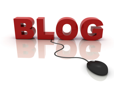 blog with mouse