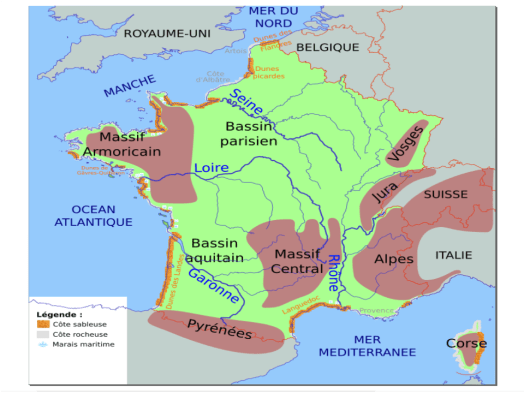 「le cote ouest france geographIE」的圖片搜尋結果