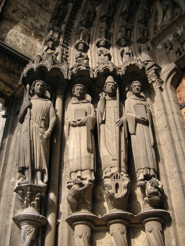 Chartres Cathedral Gothic Art Sculptures