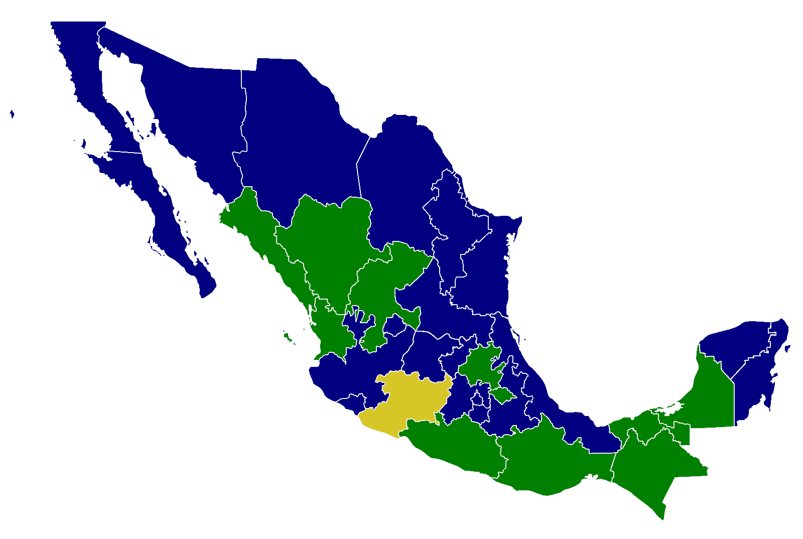 2000 mexican general election