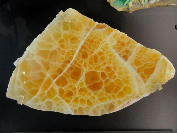 File Honeycomb Calcite Hanna Utah - Natural History