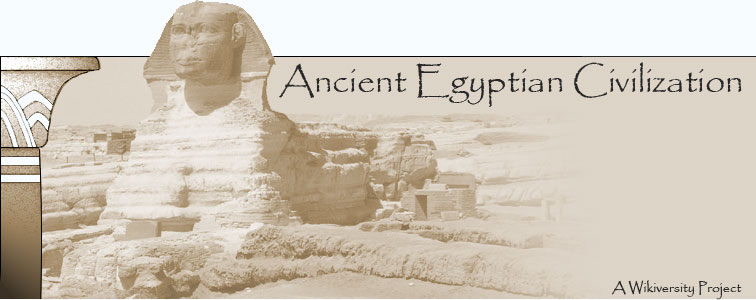 "Banner for ""Intro to Ancient Egyptian Civ..."