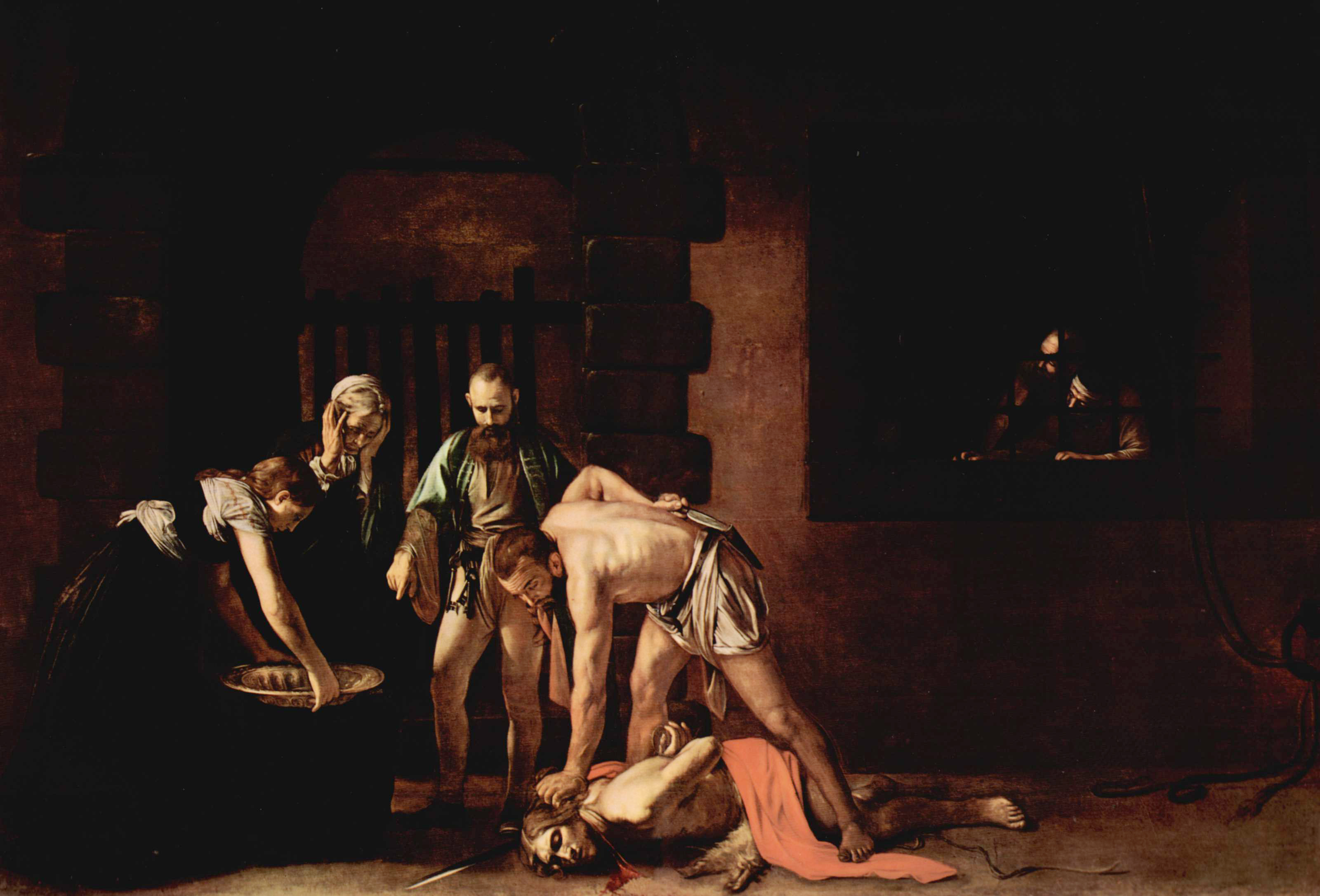 The Beheading of Saint John the Baptist, 1608....
