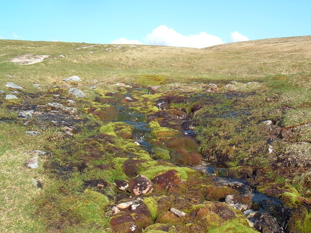 File:Mountain spring. - geograph.org.uk - 586105.jpg