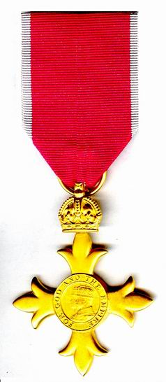 English: Order of the British Empire - officer...