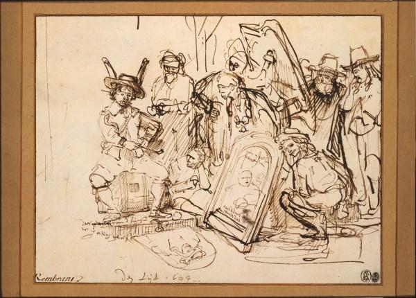 File Rembrandt Satire Art - Wikimedia Commons