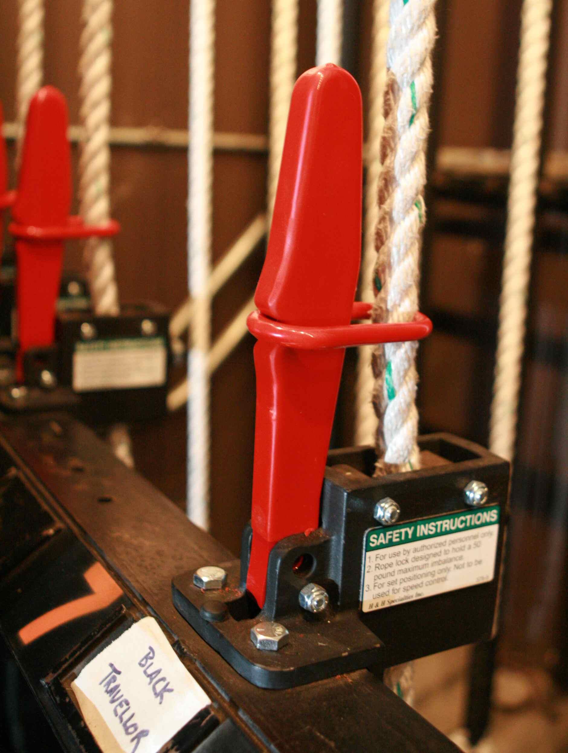 hight resolution of rope lock
