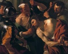 Christ Crowned With Thorns (1621-22) by Dirck van Baburen
