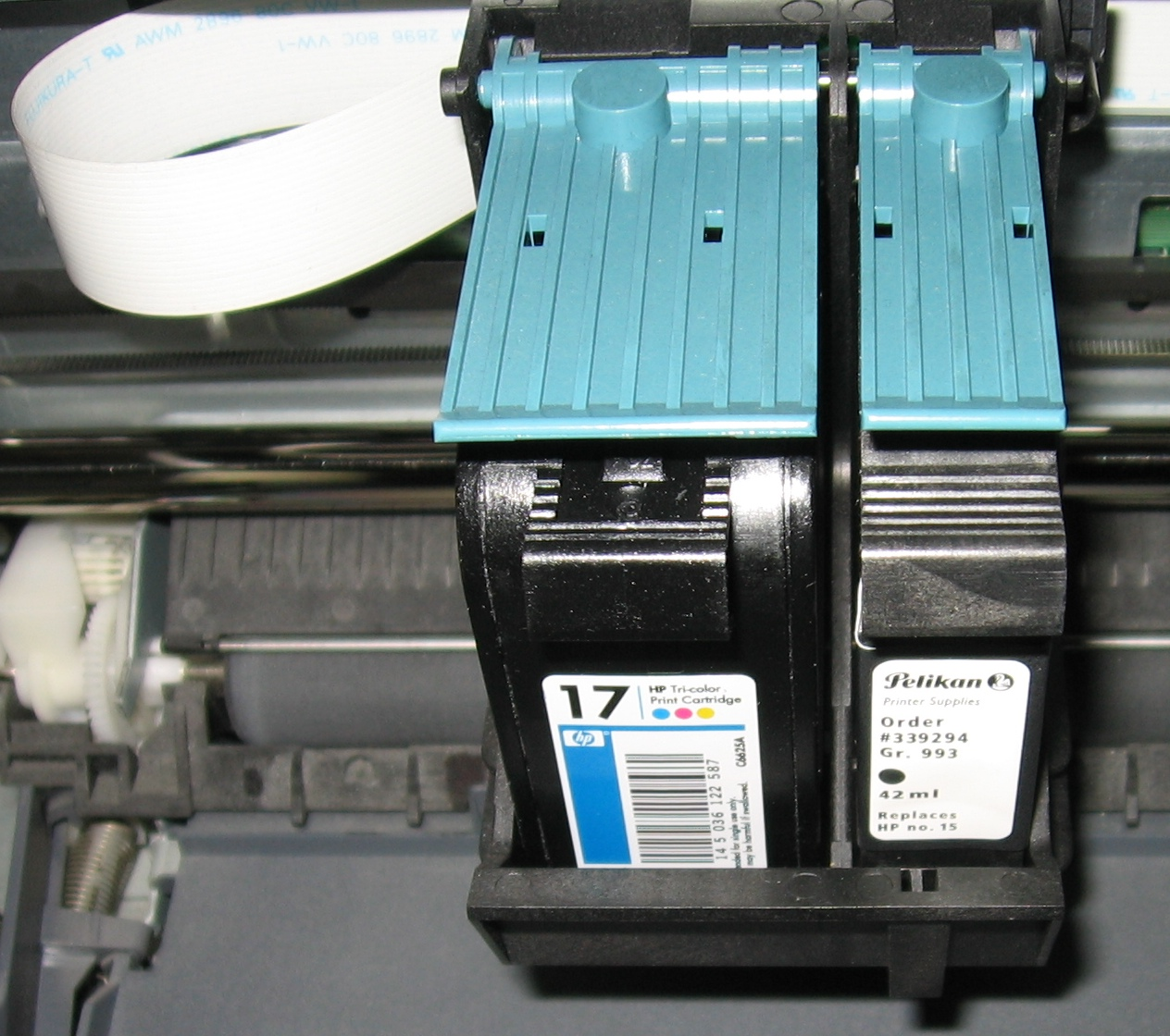 hight resolution of inside printer diagram