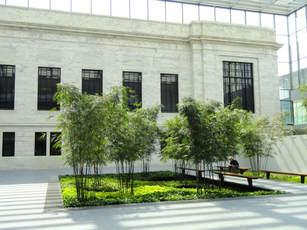 The Cleveland Art Museum Courtyard