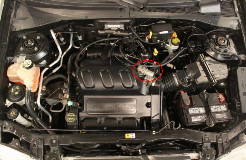 2004 Ford Escape Oxygen Sensor Location