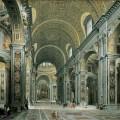 Description st peters basilica interior pannini 1731 jpg