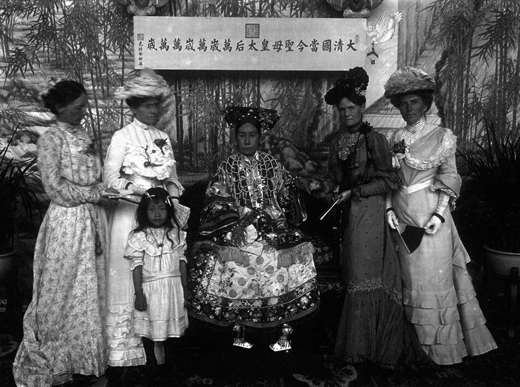 File:The Qing Dynasty Cixi Imperial Dowager Empress of China On Throne 7.PNG