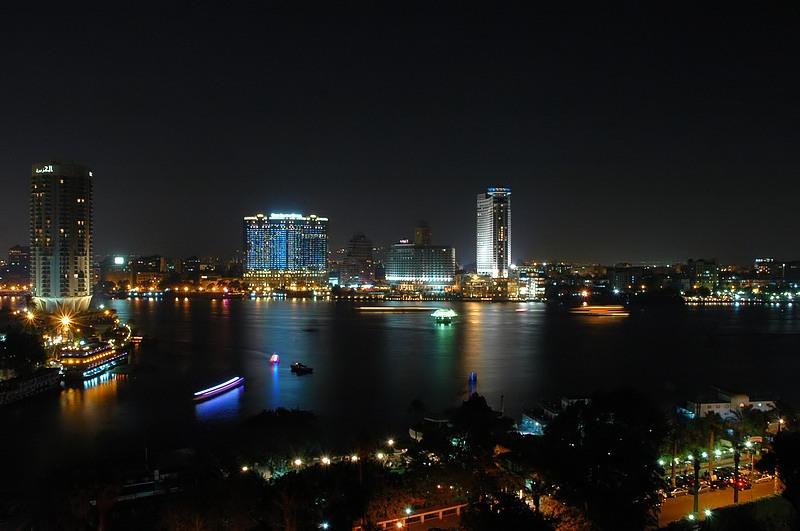 Wo? ....da - in Kairo.