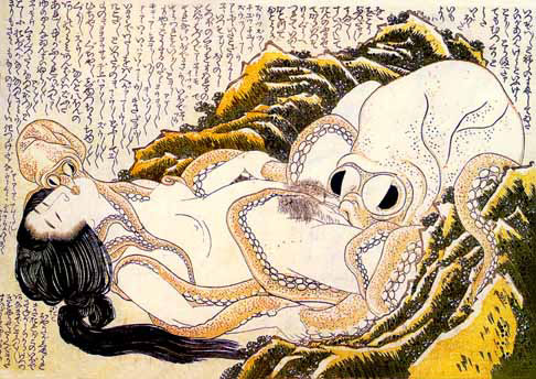 Hokusai, Dream of the fishermans wife