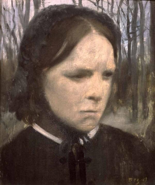 Edgar Degas Portrait