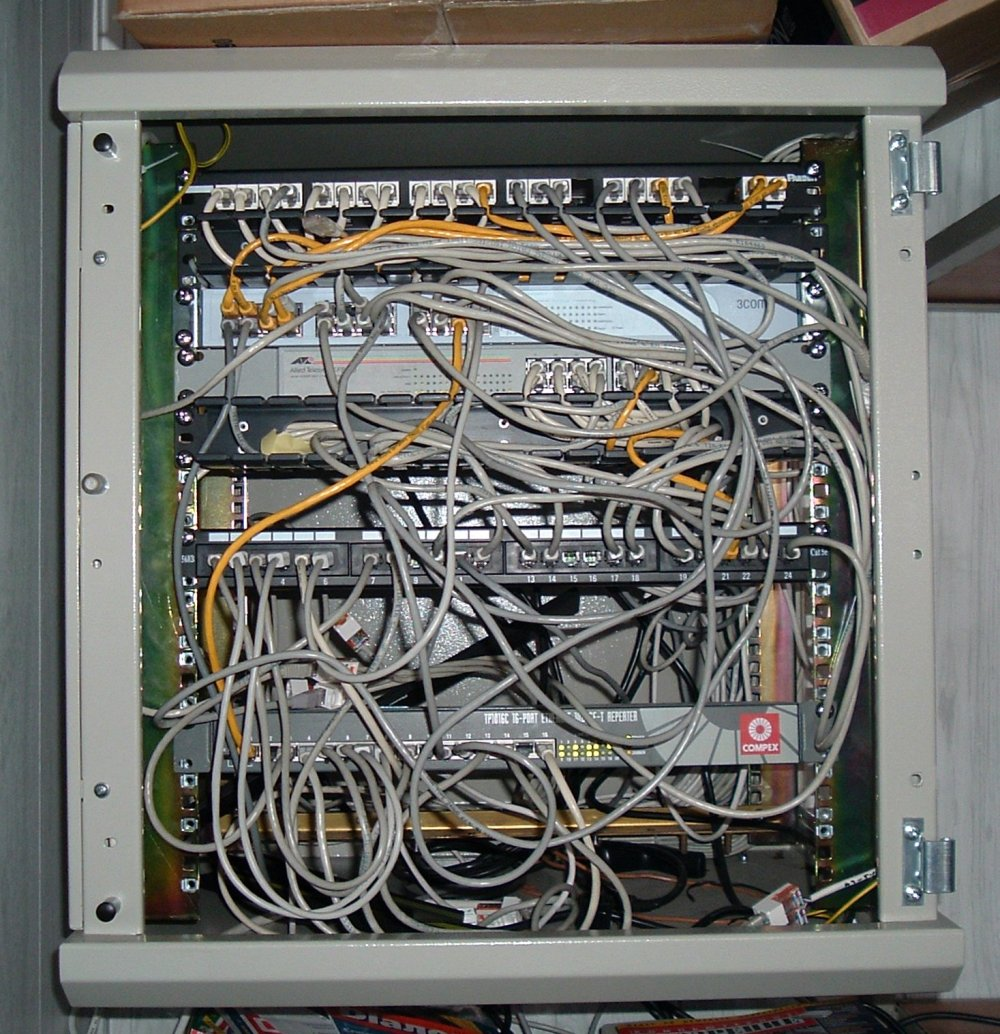 medium resolution of large house wiring network