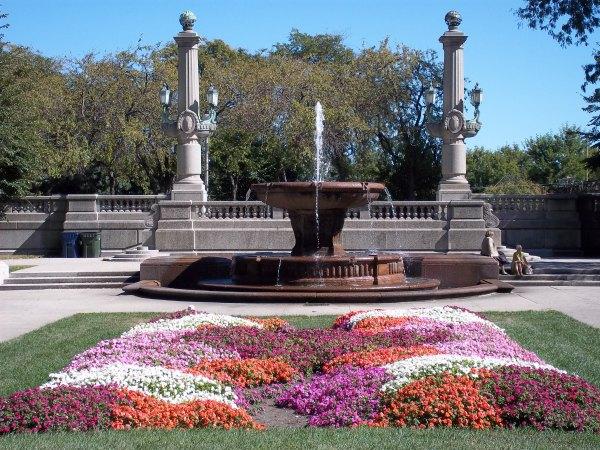 Grant Park Chicago Fountain