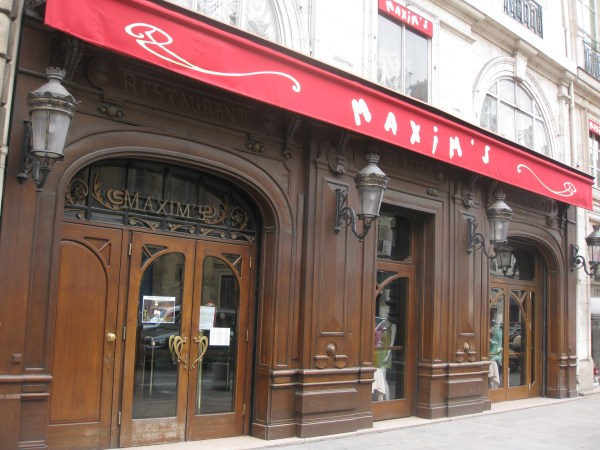 Maxims Restaurant - Year of Clean Water