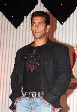 Indian actor Salman Khan