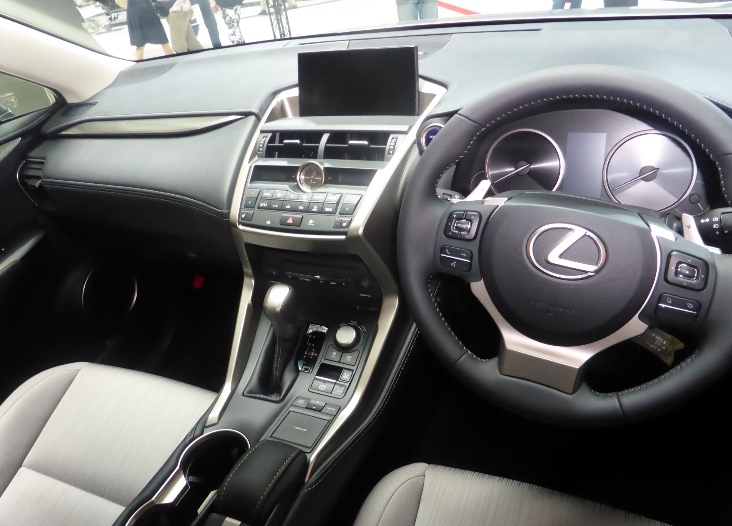 File The interior of Lexus NX300h PROTOTYPE JPG Wikimedia mons