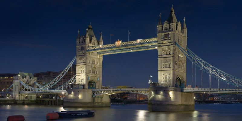 Tower Bridge At Night At Tower Bridge By Diliff