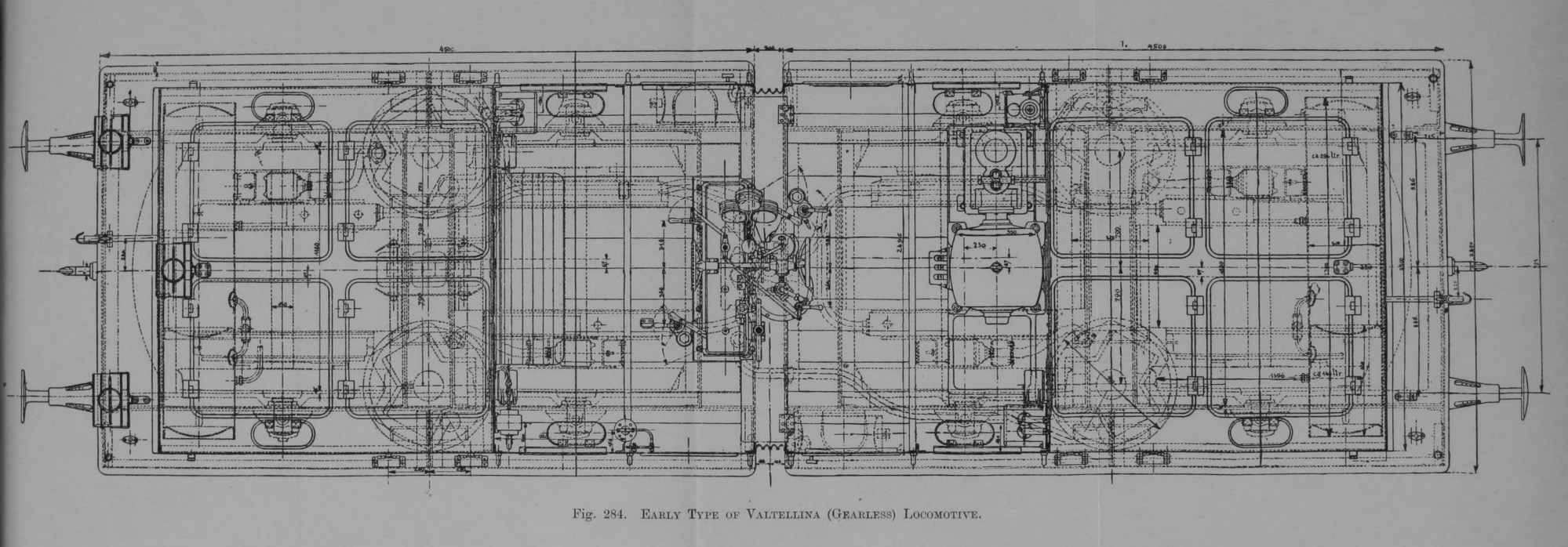 hight resolution of early type of valtellina gearless locomotive jpg