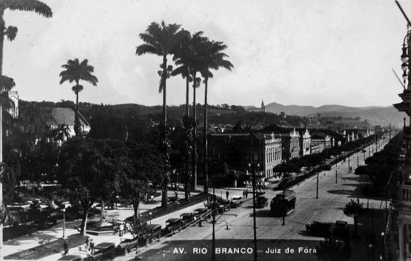 FileAvenida Rio Branco Juiz de Fora 1928JPG